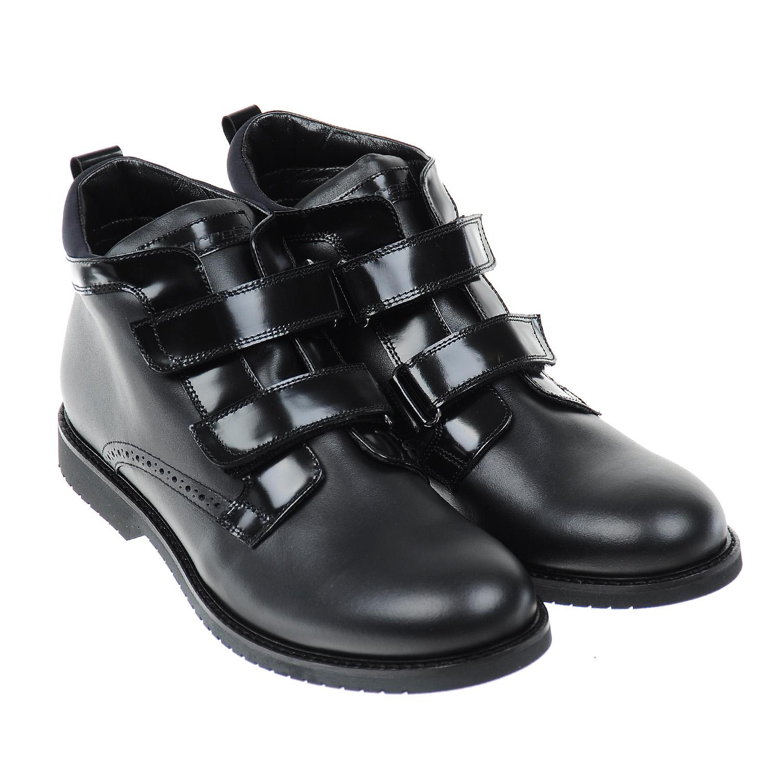 Кожаные ботинки с застежками велькро Jarrett