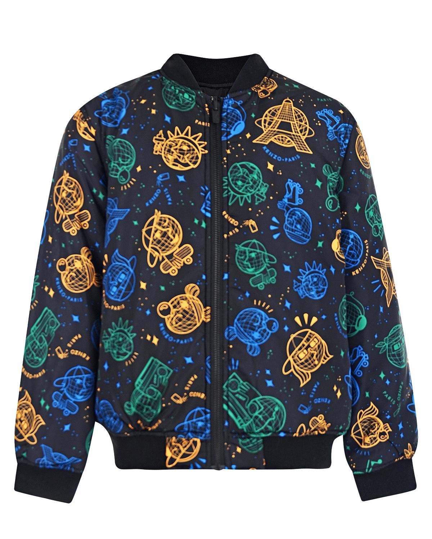 Купить со скидкой Двухсторонняя куртка-бомбер