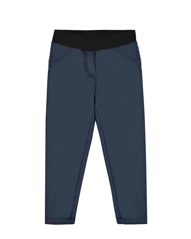 Купить Синие утепленные брюки Dan Maralex детские, Синий, 100%полиэстер, 63%бамбук+27%хлопок+10%спандекс