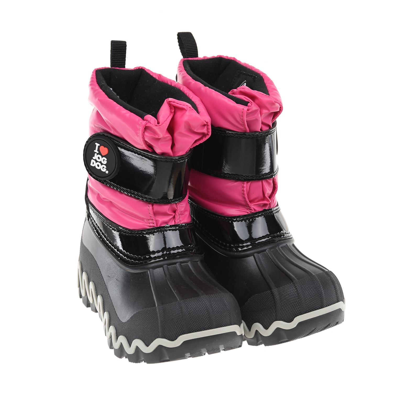 Купить Мембранные сапоги цвета фуксии Jog Dog, Розовый, верх:100%полимерные материалы, подкладка:100%шерсть, подошва:100%полим.материалы (термопл.полиуретан)