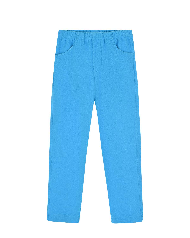 Купить Голубые брюки из флиса Poivre Blanc детские, Голубой, 100%полиэстер