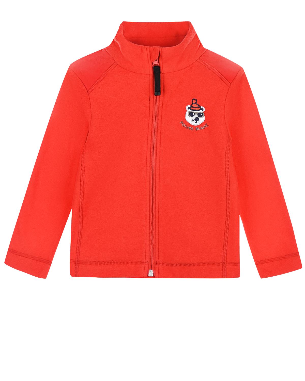 Купить Красная кофта из флиса Poivre Blanc детская, Красный, 100%полиэстер