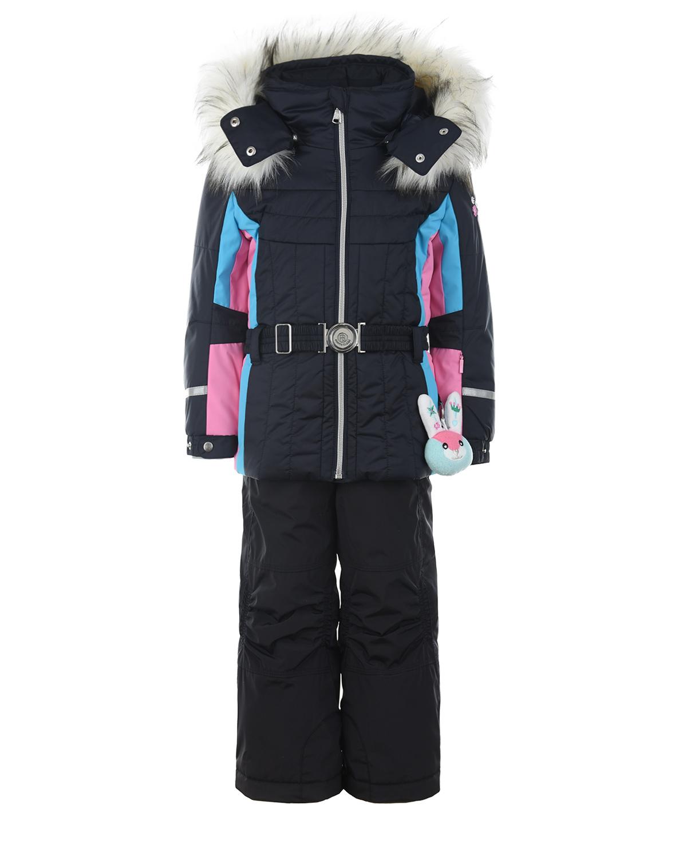 Комплект, куртка и полукомбинезон, синий Poivre Blanc детский