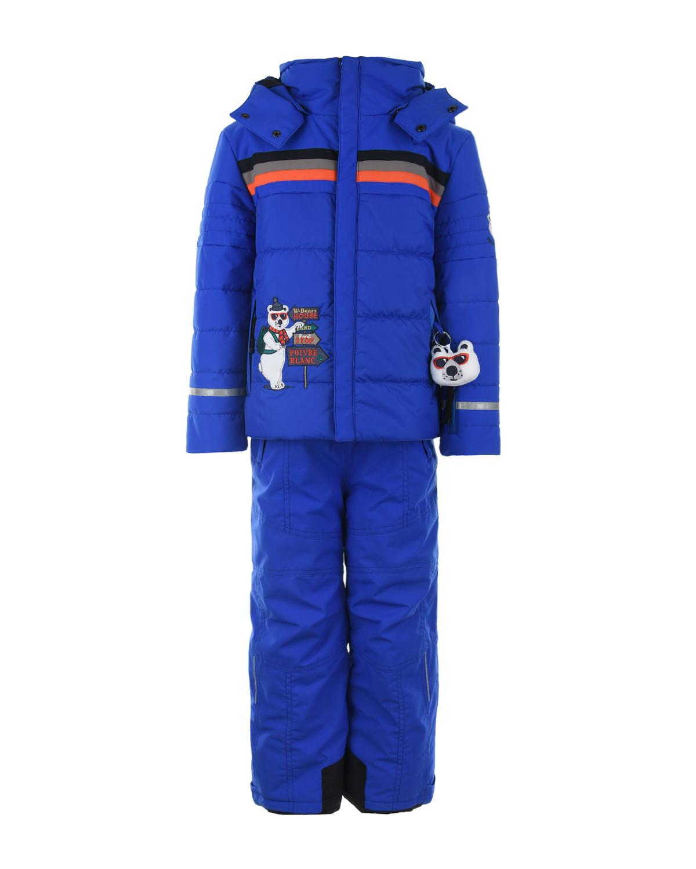 Комплект, куртка и полукомбинезон с аппликацией Poivre Blanc детский фото