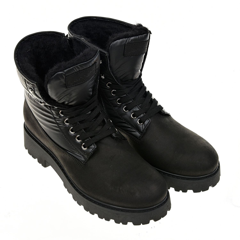 Купить Высокие ботинки на шнуровке Jarrett детские, Черный, верх-100%нат. кожа, 100%полимерные материалы, подклад.-100% нат.шерсть, подошва-100%полимерные материалы