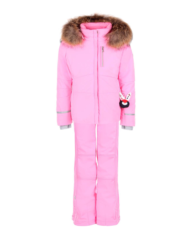 Розовый комплект с декоративной деталью Poivre Blanc детский