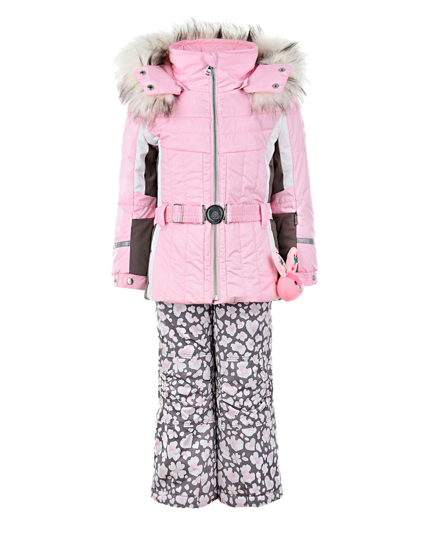 Комплект из куртки и полукомбинезона с вышивкой Poivre Blanc детский