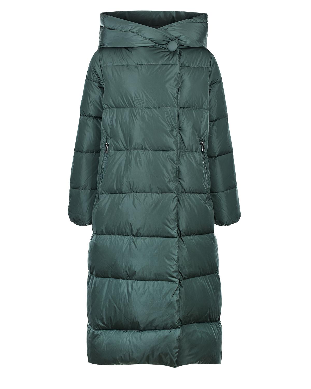 Купить Зеленое пуховое пальто Samara Freedomday, Зеленый, 100%нейлон, 100%полиэстер, 90%пух+10%перо