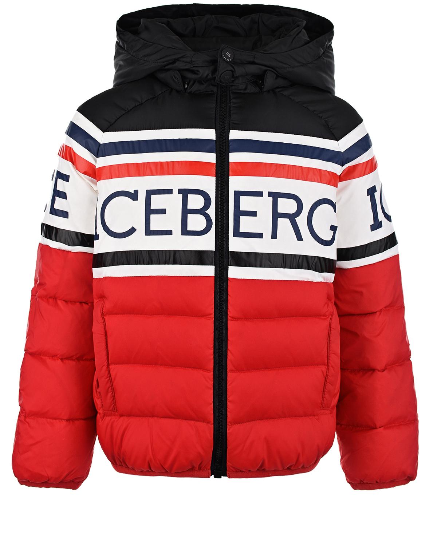 куртка ice iceberg для мальчика