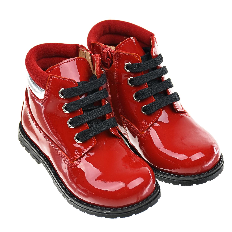 Купить Красные лакированные ботинки Zecchino d Oro