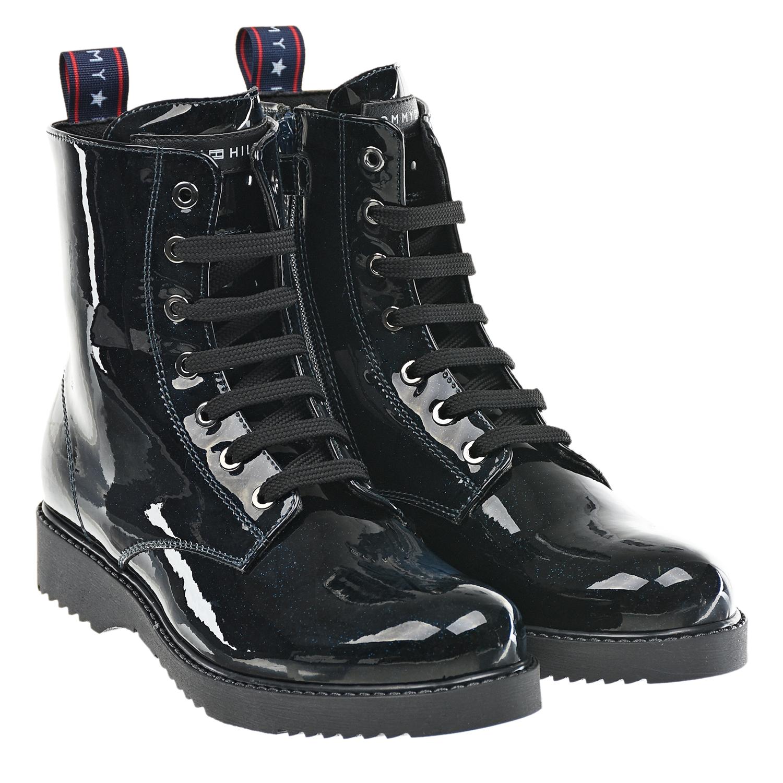 ботинки tommy hilfiger для девочки