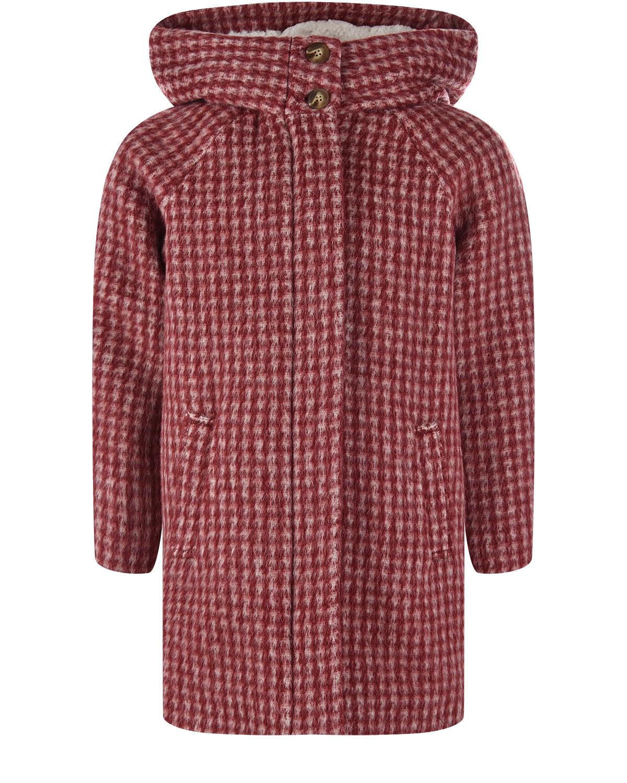 пальто с капюшоном chloe для девочки
