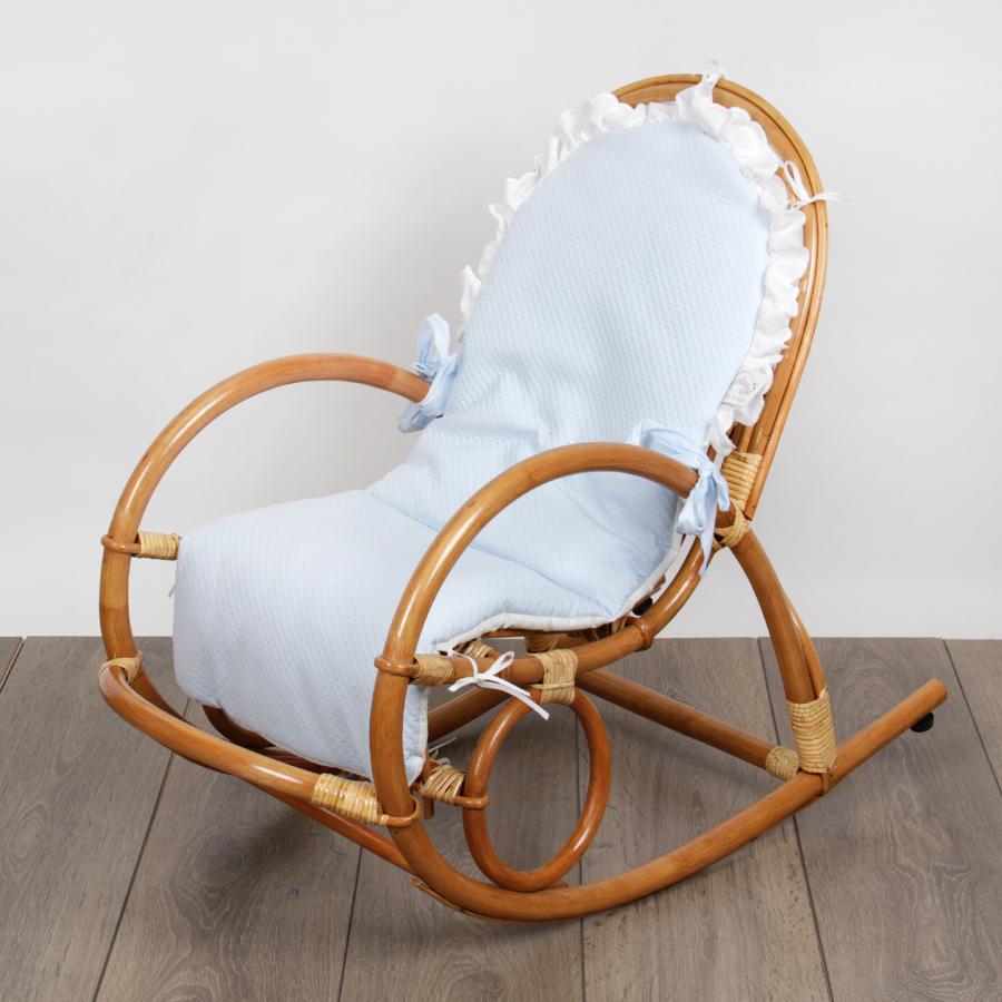 Кресло-качалка Fantasy Dondolino голубоеКресла<br><br>