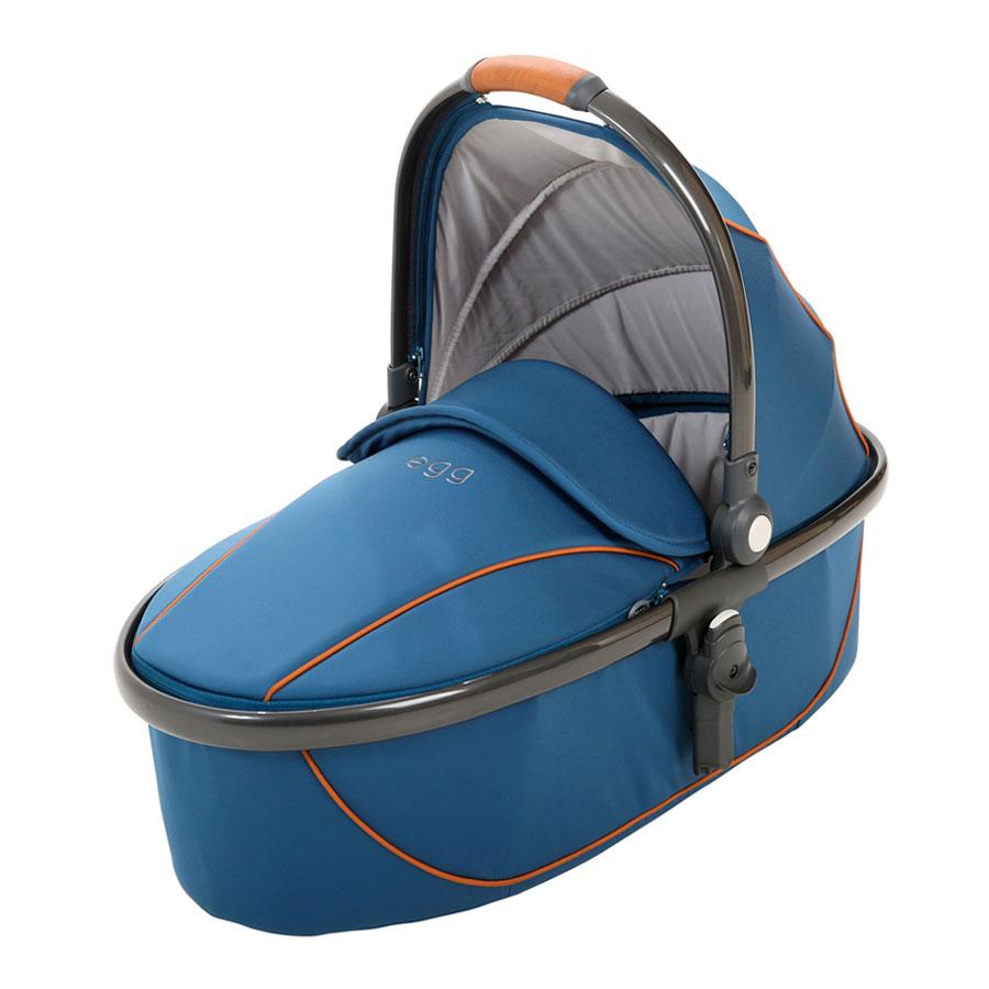 Люлька egg Stroller Egg Carrycot Petrol Blue &amp; Gun Metal FrameКоляски 2 в 1<br><br>