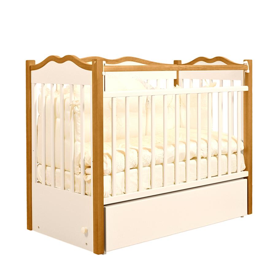 Кроватка для новорождённого из массива ангарской сосны Jan&amp;SofieКровати для новорождённых<br><br>