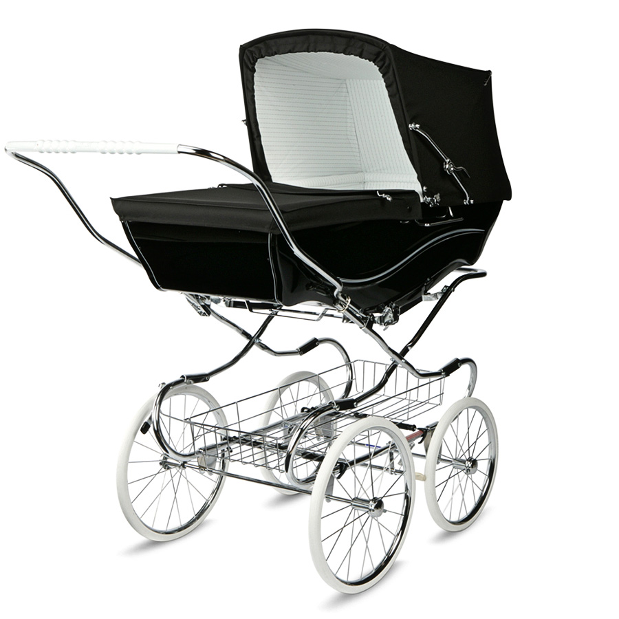 Коляска для новорожденных Silver Cross Kensington BlackКоляски для новорожденных<br><br>