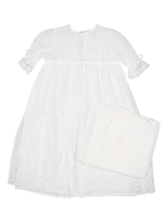 Комплект д/крестин КВениз для малышейКрестильная одежда<br><br>