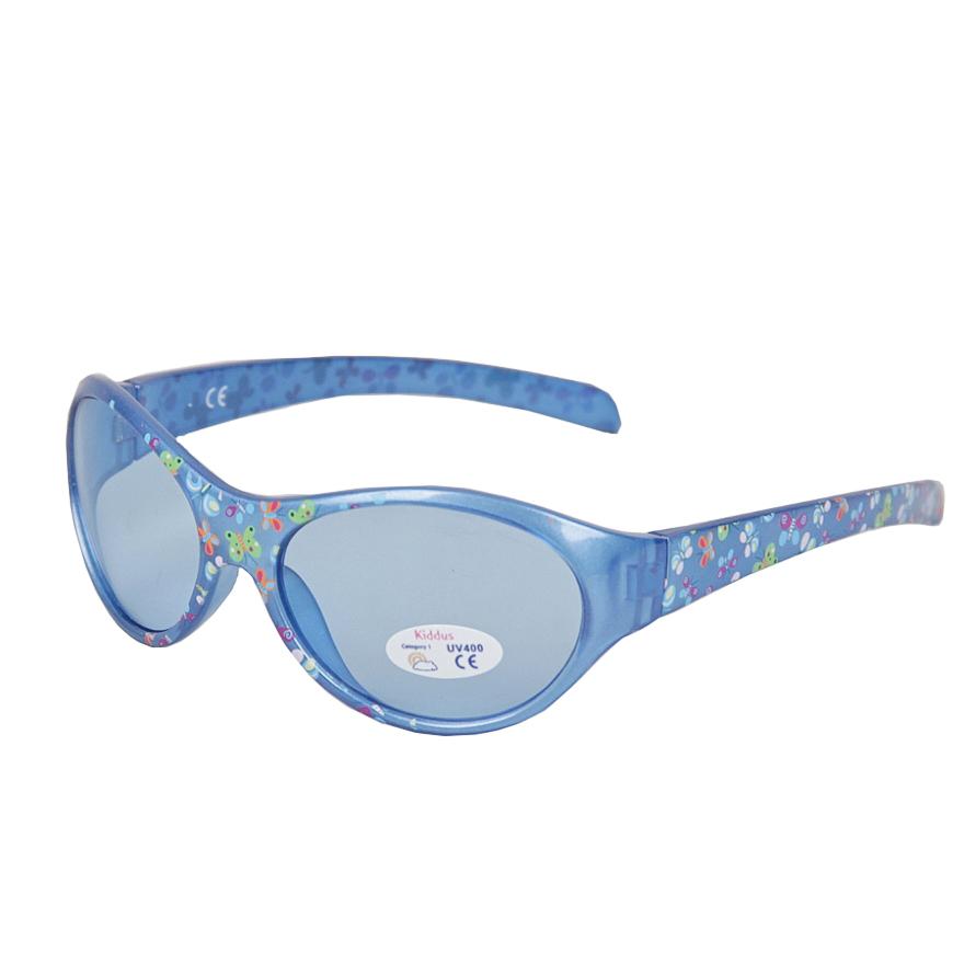Очки Kiddus Kids солнцезащитные, голубые
