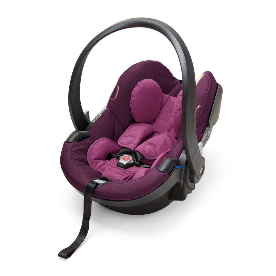 Кресло автомобильное Stokke iZiGo Modular by BeSafe PurpleАвтокресла 0+ (0-13 кг)<br><br>