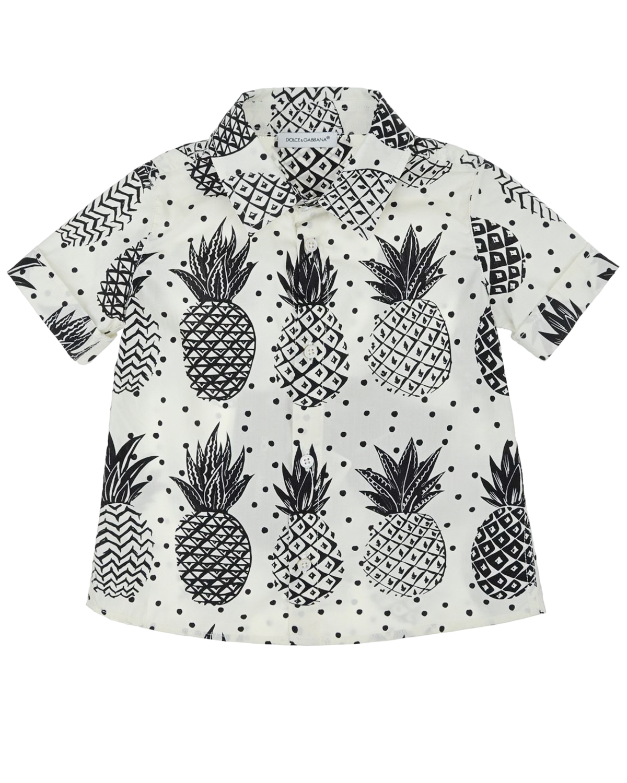 Рубашка Dolce&amp;Gabbana для малышейОдежда<br><br>