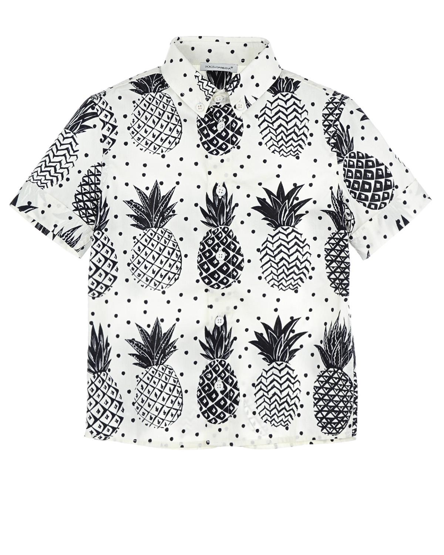 Рубашка Dolce&amp;Gabbana для мальчиковОдежда<br><br>