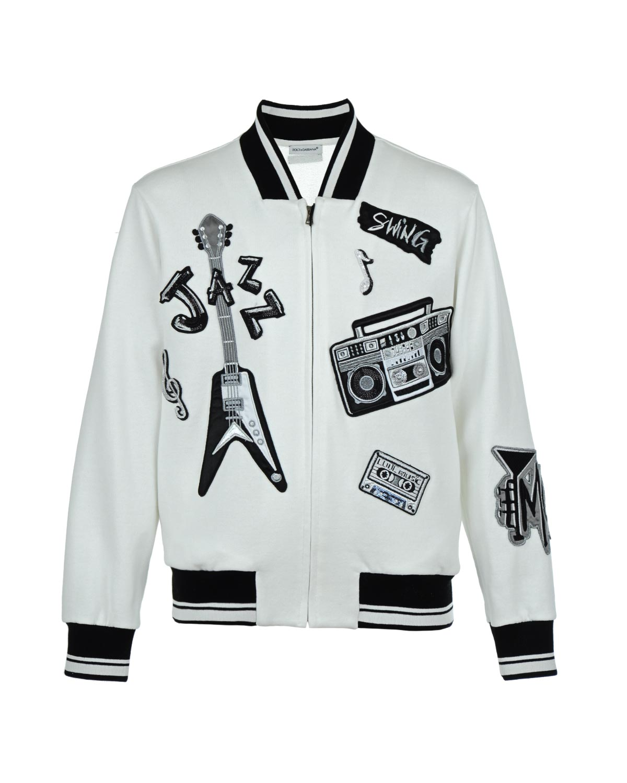 Куртка спортивная Dolce&Gabbana для мальчиков