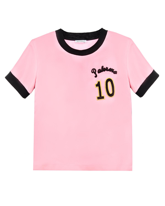 Футболка Dolce&Gabbana для девочек