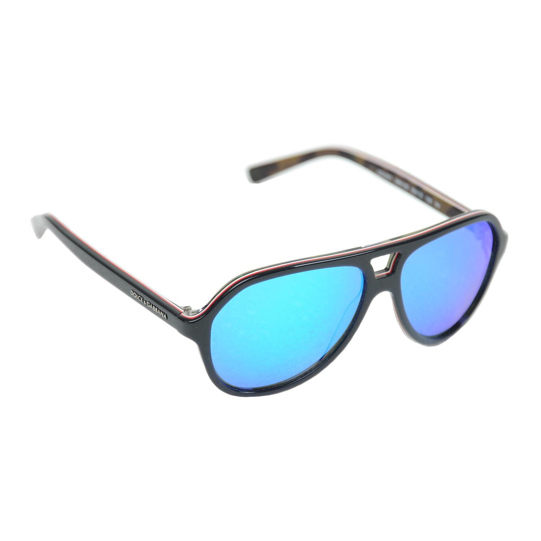 Очки Dolce&Gabbana солнцезащитные, синие стекла
