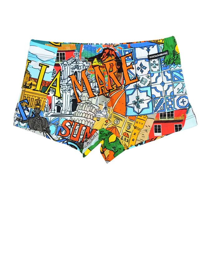 Плавки-шорты Dolce&amp;GabbanaПлавки<br><br>