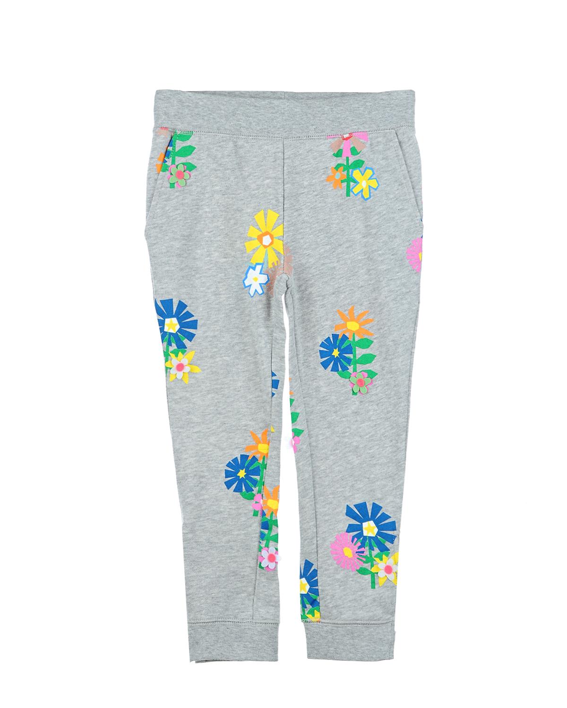 Брюки спортивные Stella McCartney для девочекСпортивная одежда<br><br>
