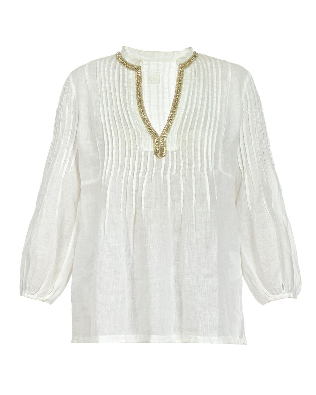 Блузон 120% LinoБлузы, Рубашки<br><br>