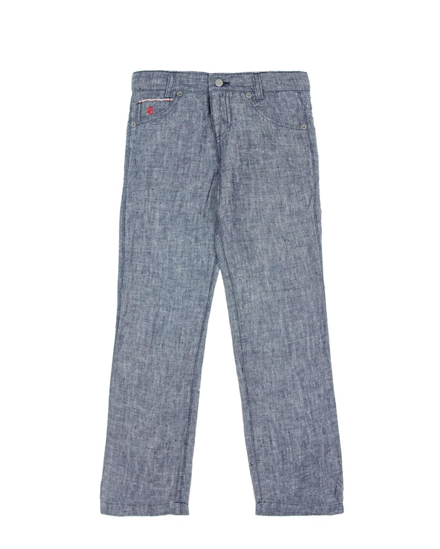 Брюки джинсовые 120% Lino для мальчиковБрюки<br><br>