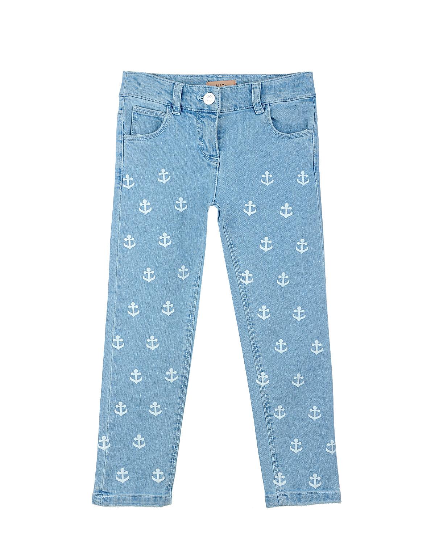 Брюки джинсовые №21 для девочекОдежда<br><br>