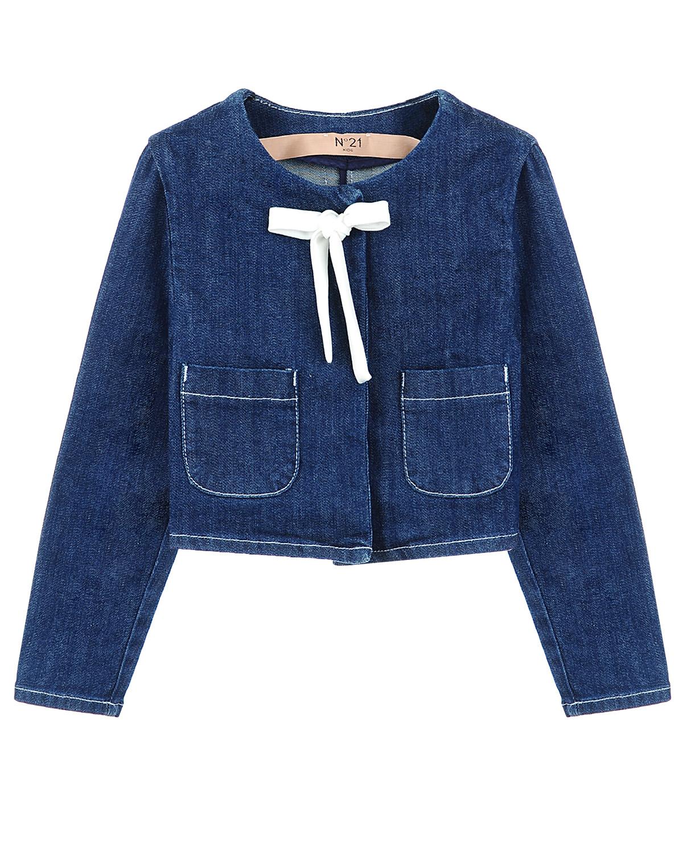Куртка джинсовая №21 для девочекВерхняя одежда<br><br>