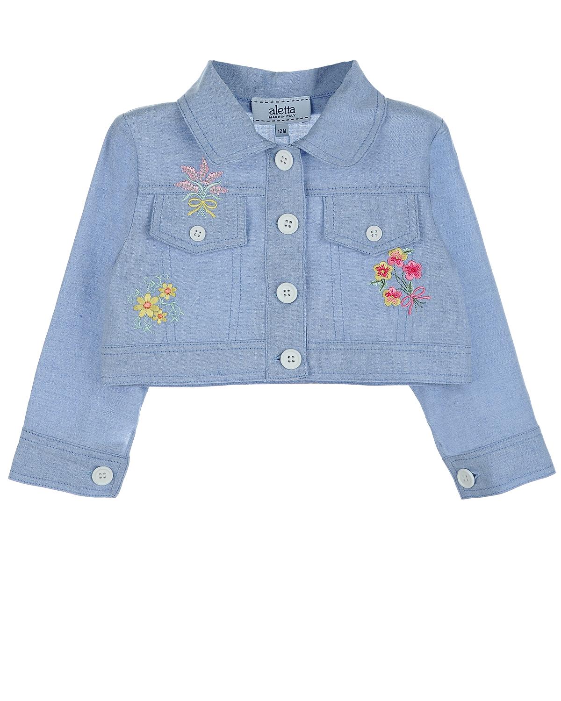 Куртка джинсовая Aletta для малышейВерхняя одежда<br><br>