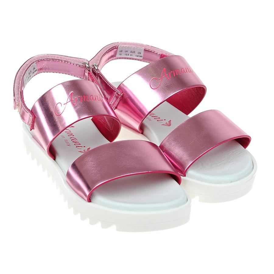 Босоножки Armani для девочекБосоножки, Сандалии<br><br>