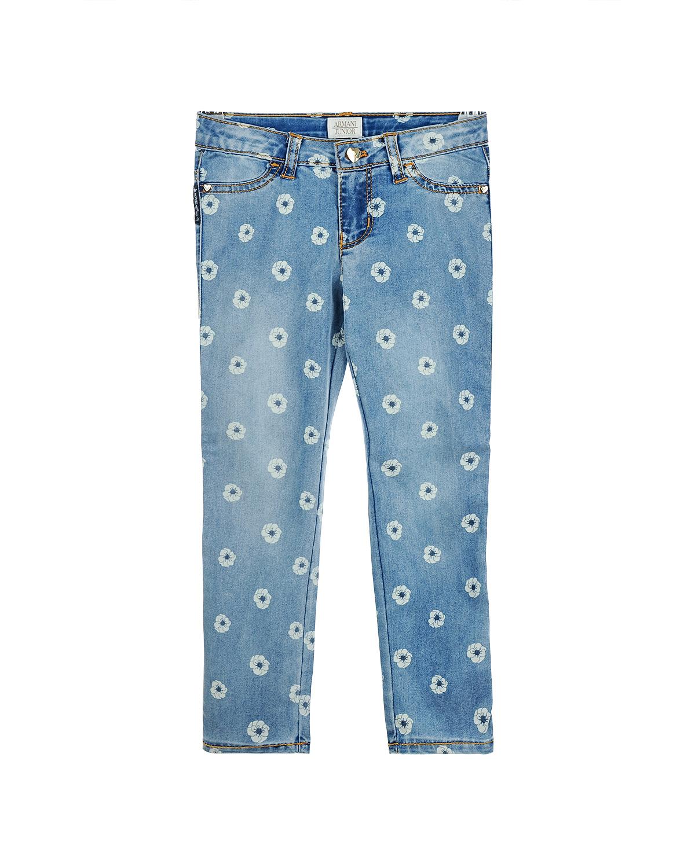 Брюки джинсовые Armani для девочекОдежда<br><br>