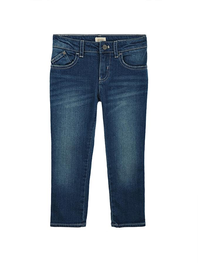 Брюки джинсовые Armani для мальчиковДжинсы<br><br>