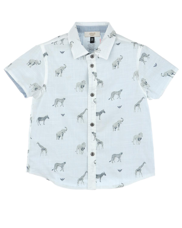 Рубашка Armani для малышейОдежда<br><br>