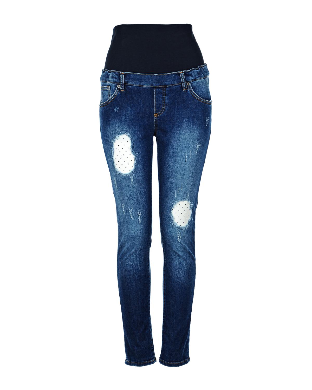 Брюки джинсовые для беременных AttesaУзкие<br><br>