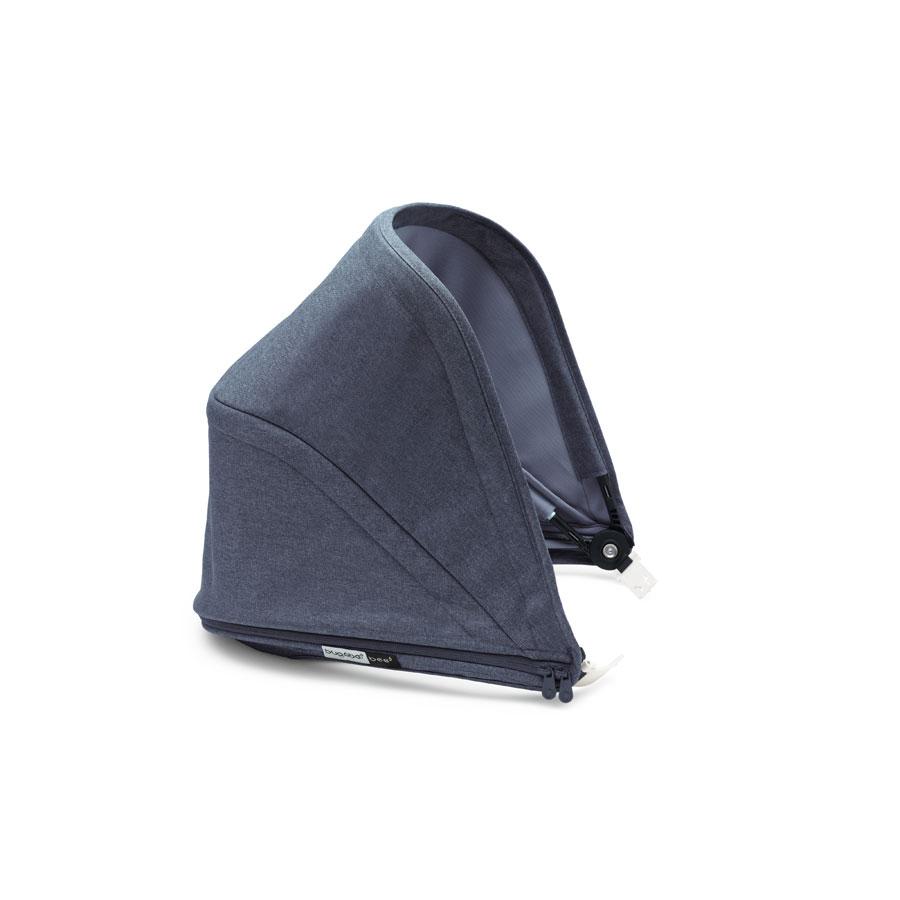 Капор Bugaboo Bee5 sun canopy раздвижной Blue MelangeСменные тканевые комплекты<br><br>