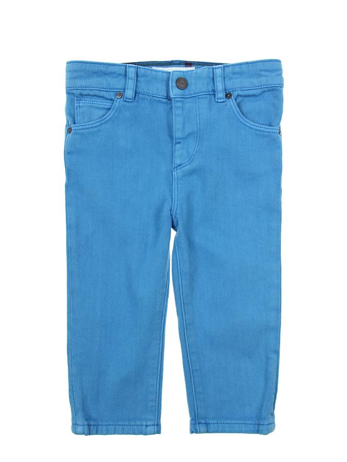 Брюки джинсовые Burberry для малышейОдежда<br><br>