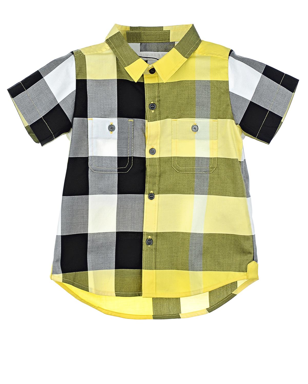 Рубашка Burberry для малышейОдежда<br><br>