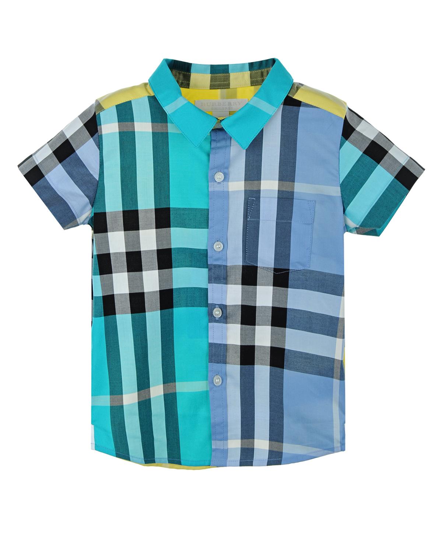 Рубашка Burberry для малышейБлузы, Рубашки, Туники<br><br>