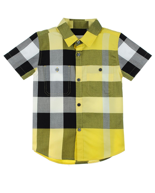 Рубашка Burberry для мальчиковОдежда<br><br>
