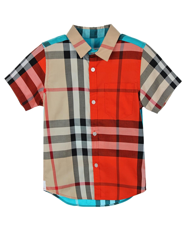 Рубашка Burberry для мальчиковРубашки<br><br>
