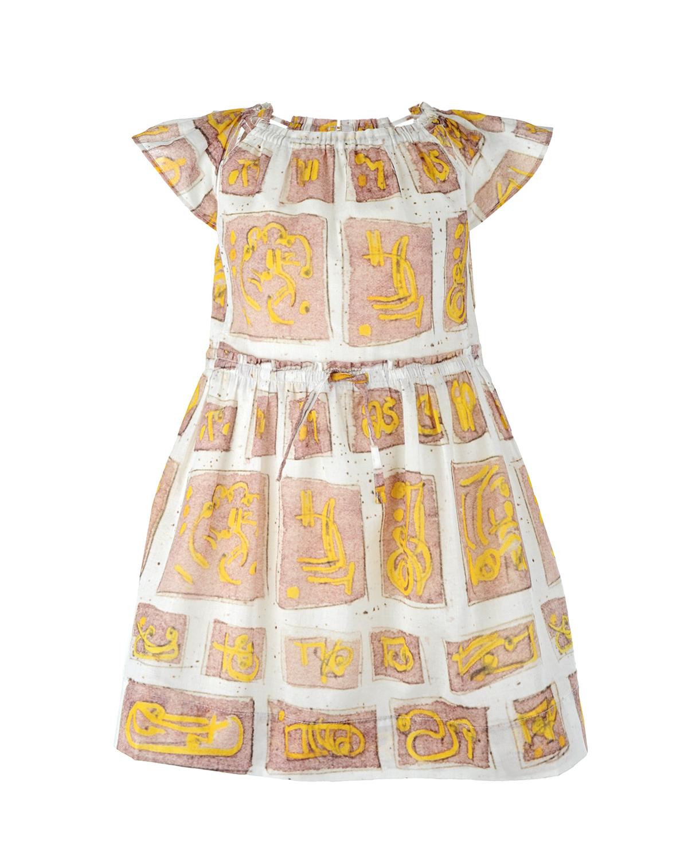 Платье Burberry для девочекОдежда<br><br>