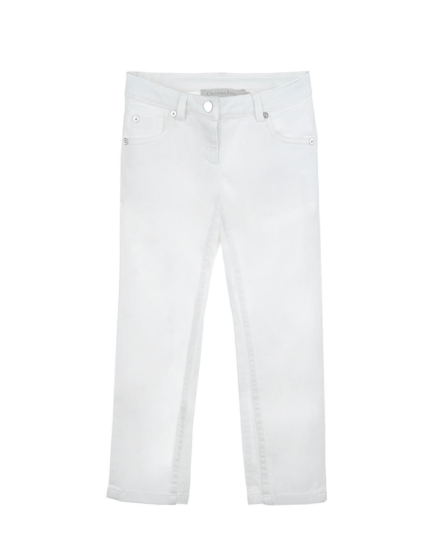 Брюки джинсовые Dior для девочекДжинсы<br><br>