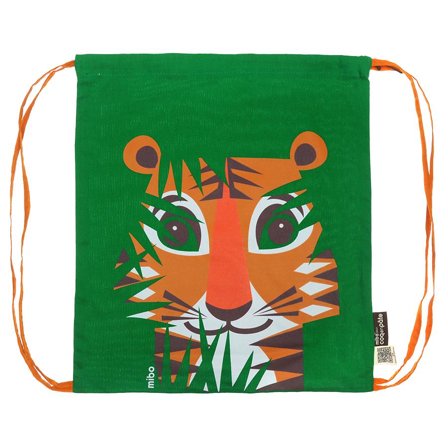 Рюкзак Coq en pate editions мешок, принт тигр