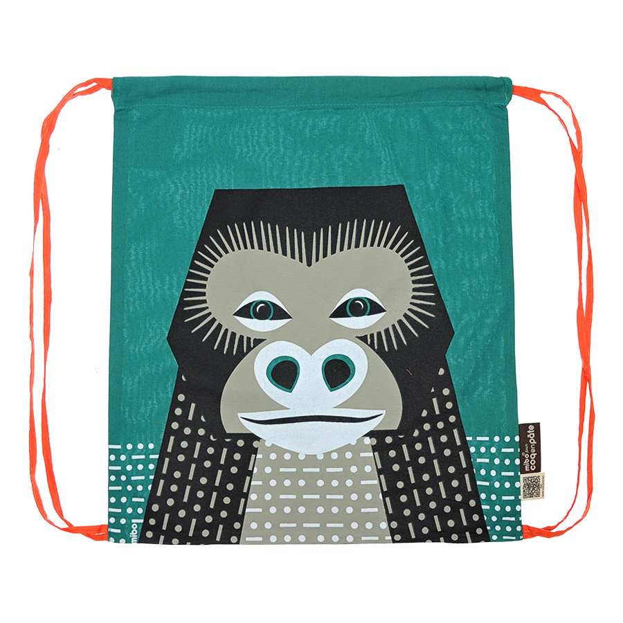 Рюкзак Coq en pate editions  мешок, принт обезьянаСумки и рюкзаки<br><br>